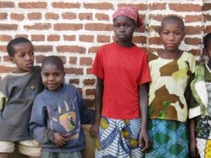 Tanzánie a děti