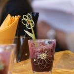 Detail sklenice na volny napoj