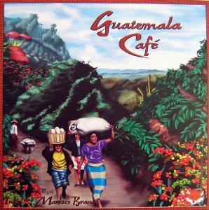 guatemalská káva