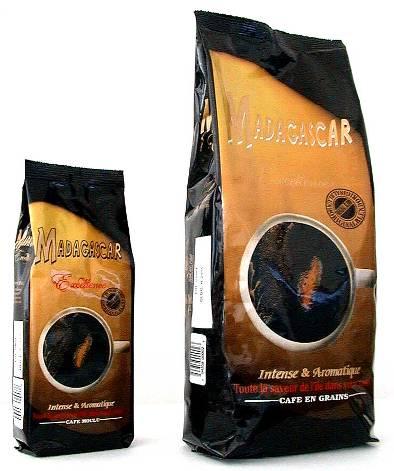 káva z madagaskaru