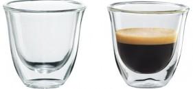 DeLonghi skleničky – designová káva