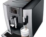 Vyladěný kávovar Jura E8